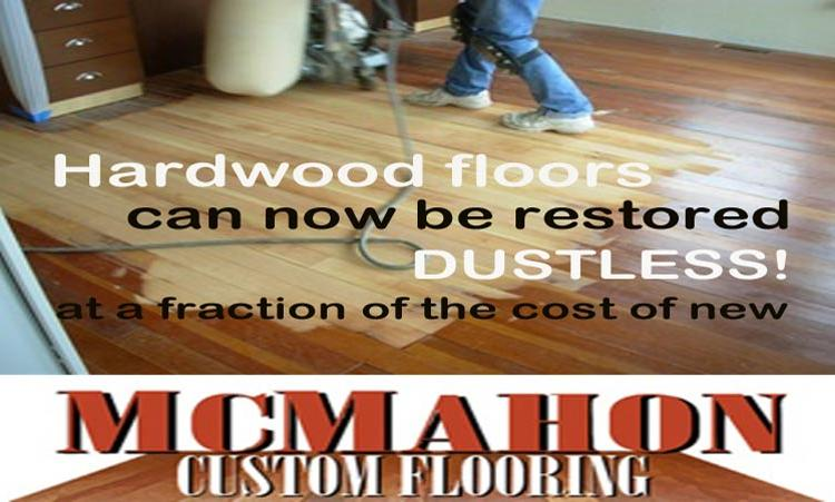 dustless hardwood floor refinishing