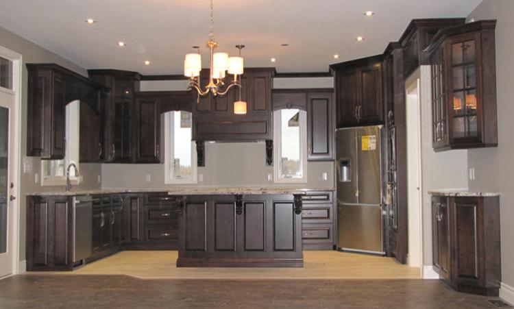 Custom Kitchen cabinets manufactured and installed