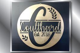 Coulthard family monogram