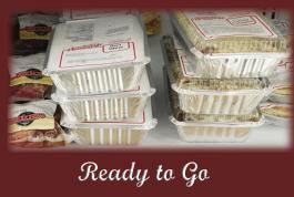 Fresh and Frozen foods ready to go