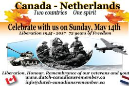 Canada-Netherlands Two Counties, One Spirit