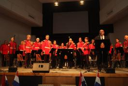Royal Regiment of Canada in Goderich for Liberation of the Netherlands concert