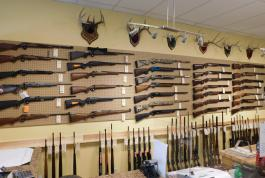 Wide selection of long guns