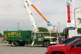 We are available for any job that needs a boom.
